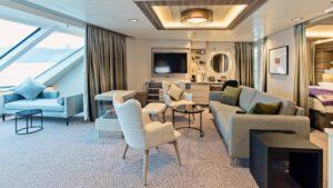 Cruiseschip-Hurtigruten-MS Fridtjof Nansen-schip-XL Suite-Categorie MA