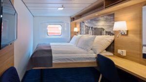 Cruiseschip-Hurtigruten-MS Kong Harald-Schip-Categorie Polar Outside-Cat. J-Buitenhut