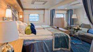 Cruiseschip-Hurtigruten-MS Nordkapp-Schip-Expedition Suite-Mini Suite-Categorie Q4