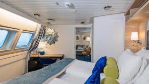 Cruiseschip-Hurtigruten-MS Nordkapp-Schip-Expedition Suite-Suite-Categorie M