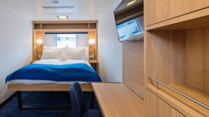 Cruiseschip-Hurtigruten-MS Polarlys-schip-Arctic Superior-Categorie P2D