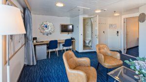 Cruiseschip-Hurtigruten-MS Polarlys-schip-Expedition Suite-Suite-Categorie M4