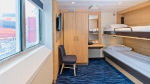 Cruiseschip-Hurtigruten-MS Spitsbergen-Schip-Polar Outside-Categorie AJ
