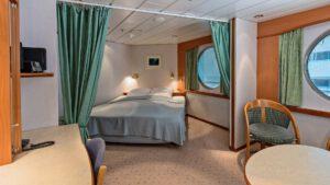 Cruiseschip-Hurtigruten-MS Trollfjord-Schip-Expedition Suite-Mini Suite-Categorie Q2