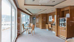 Cruiseschip-Hurtigruten-MS Trollfjord-Schip-Expedition Suite-Owners Suite-Categorie MX