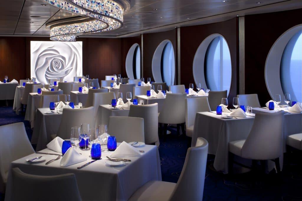 Cruiseschip-Celebrity Infinity-Celebrity Cruises-Restaurant Blu