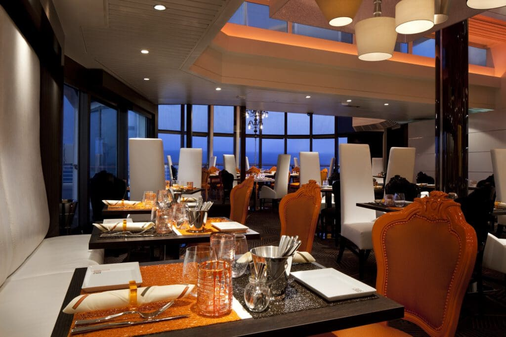Cruiseschip-Celebrity Infinity-Celebrity Cruises-Restaurant Qsine