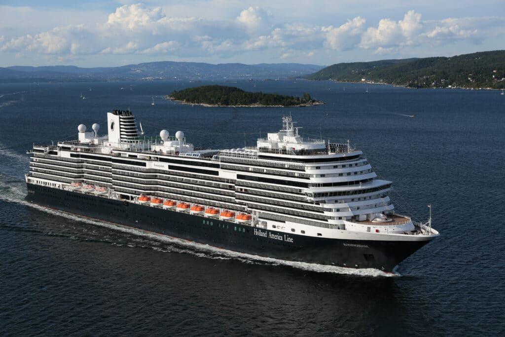 cruiseschip - Holland America Line - Koningsdam - schip