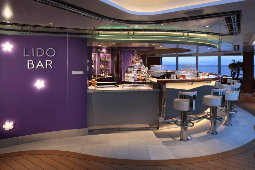 cruiseschip - Holland America Line - Koningsdam - Lido Bar