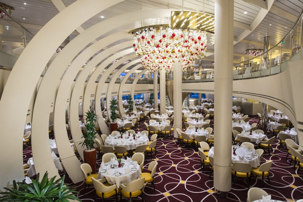 cruiseschip - Holland America Line - Koningsdam - Restaurant