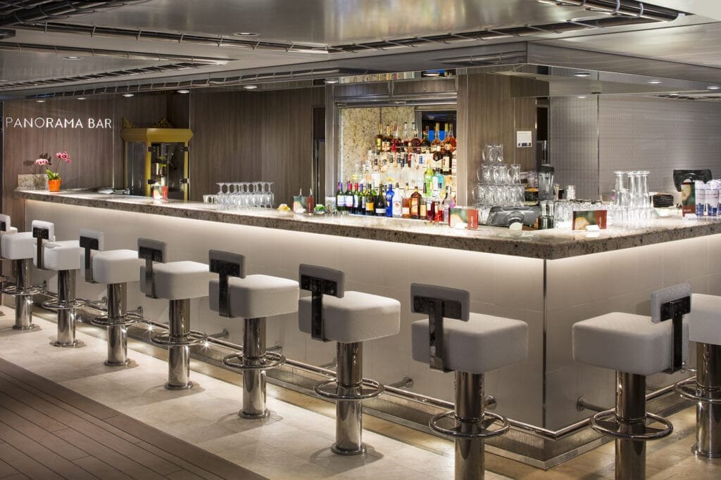 cruiseschip - Holland America Line - Koningsdam - Panorama Bar
