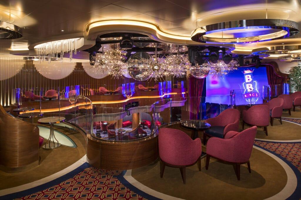 cruiseschip - Holland America Line - Koningsdam - Queen's Lounge