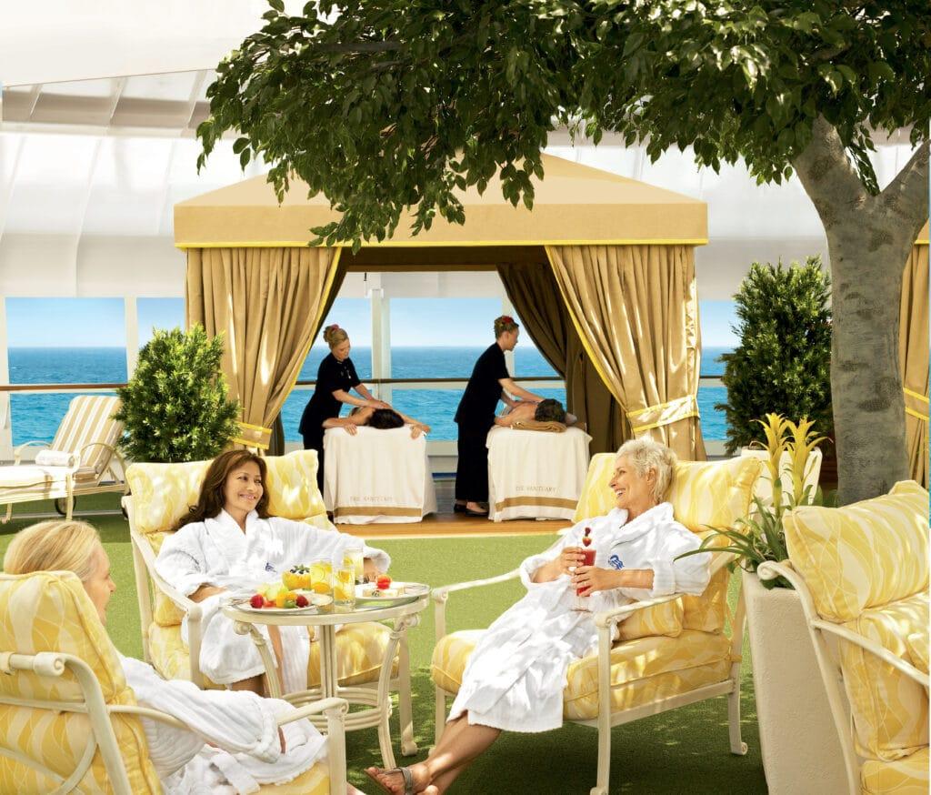 Cruiseschip-Crown Princess-Princess Cruises-Spa Lounge