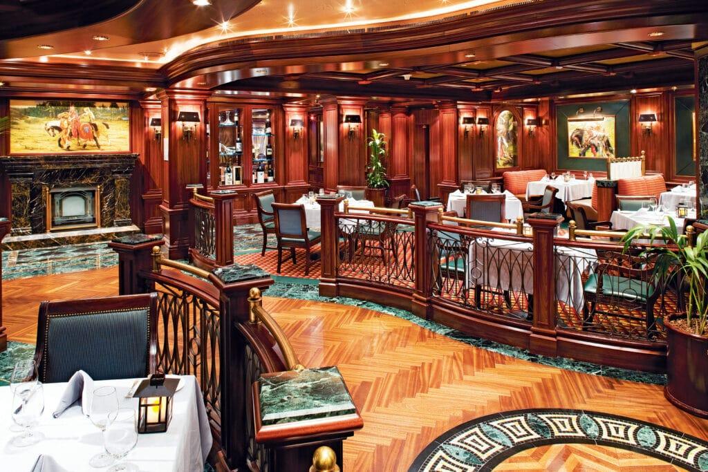 Cruiseschip-Crown Princess-Princess Cruises-Restaurant Crow Grill