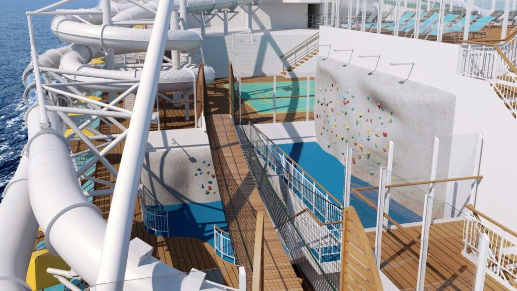 Cruiseschip-AIDAcosma-AIDA-Klauterwand