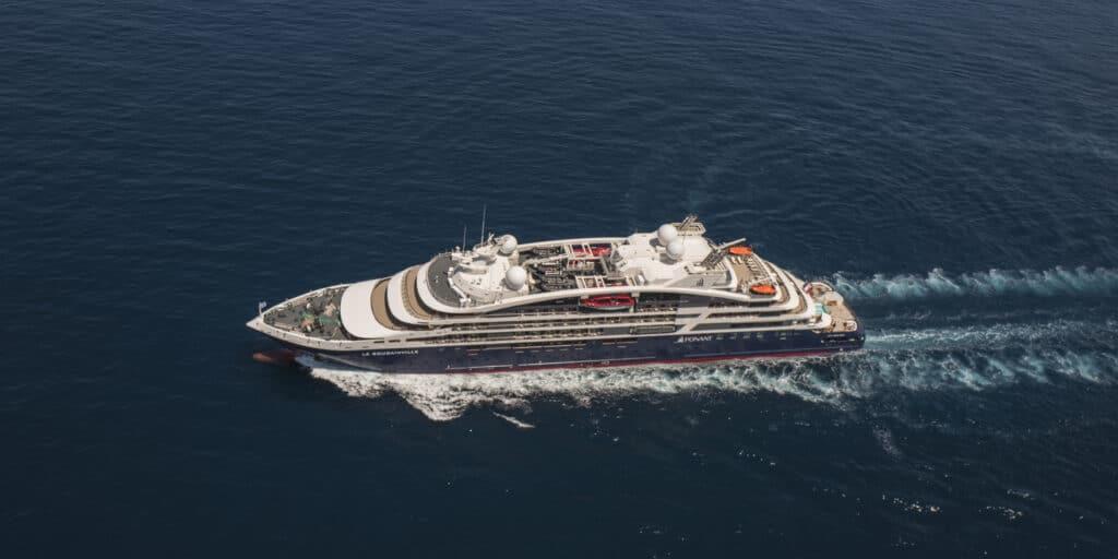 Cruiseschip-Le Bougainville-Ponant Yacht Cruises-Schip