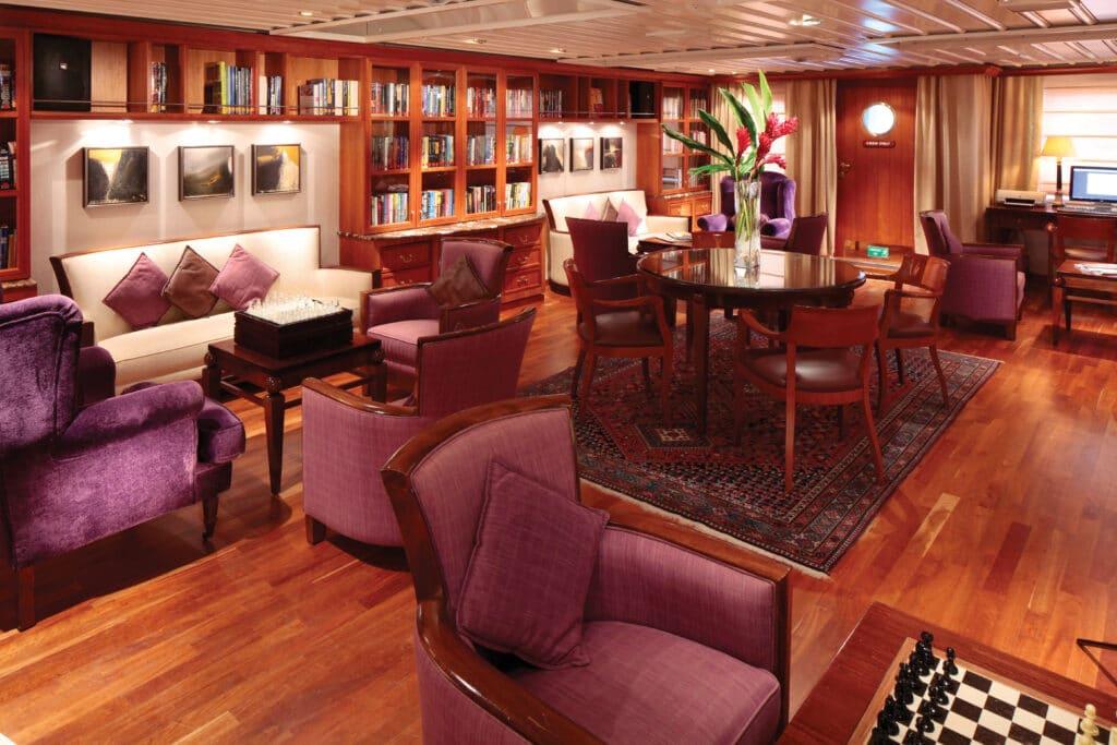 Cruiseschip-SeaDream II-Seadream Yacht Club-Library