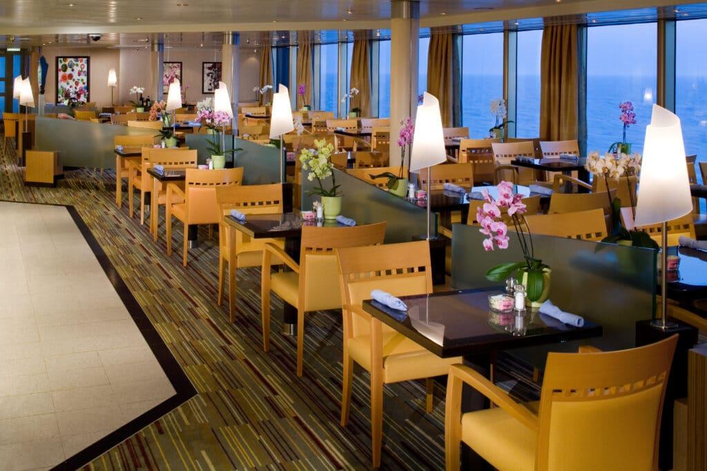 cruiseschip - Holland America Line - Eurodam - Lido Restaurant