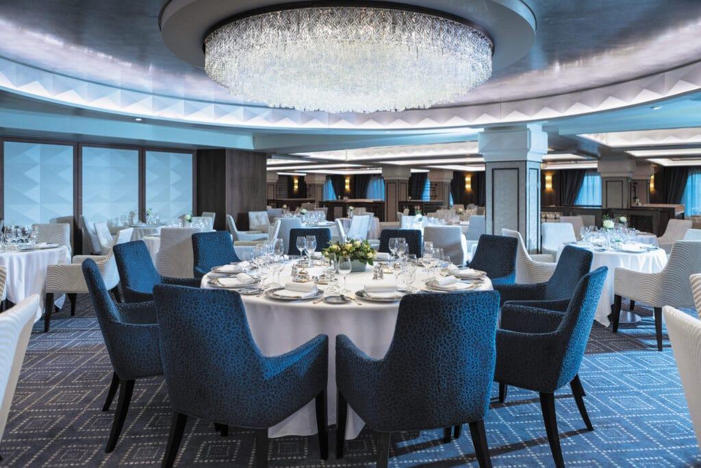 Cruiseschip-Seven Seas Mariner-Regent Seven Seas Cruises-Restaurant Compass Rose