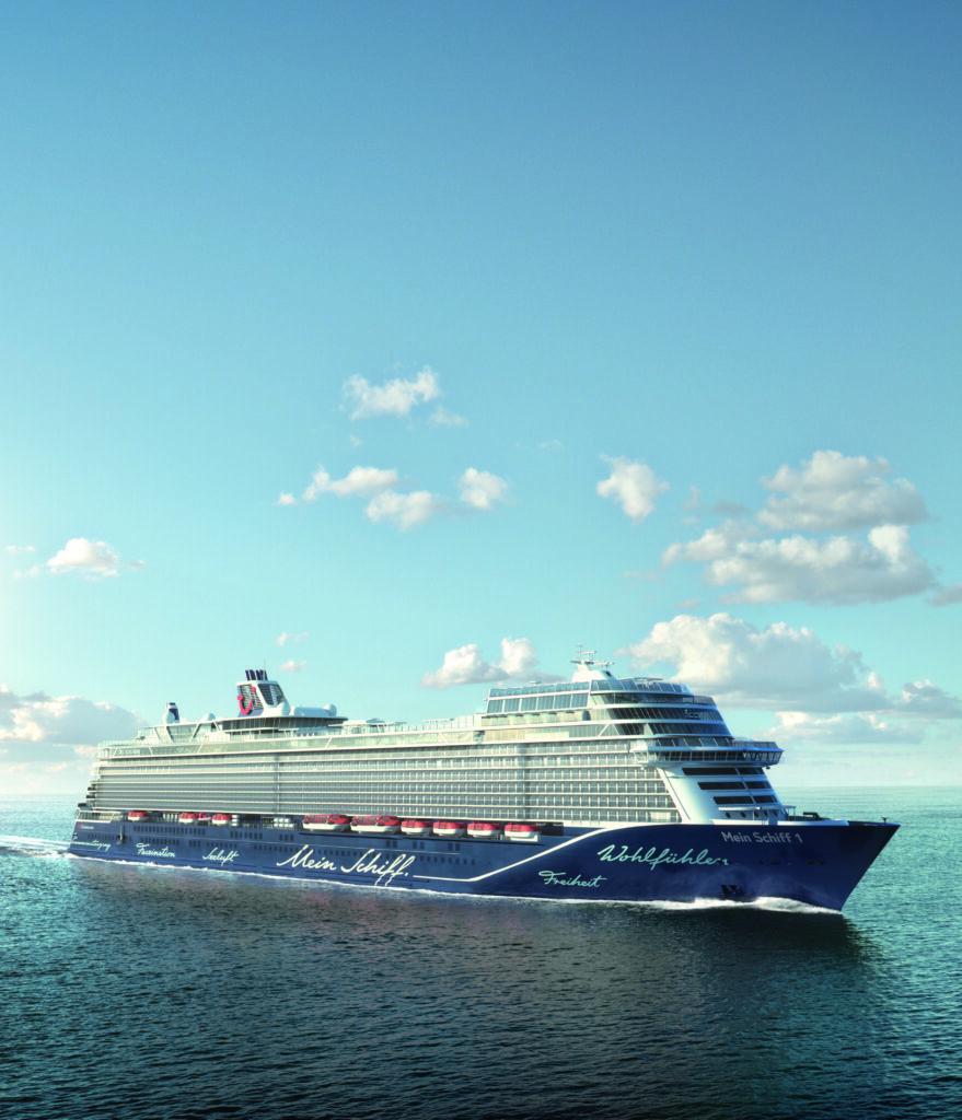 Cruiseschip-Neue Mein Schiff 1-TUI Cruises- Scip