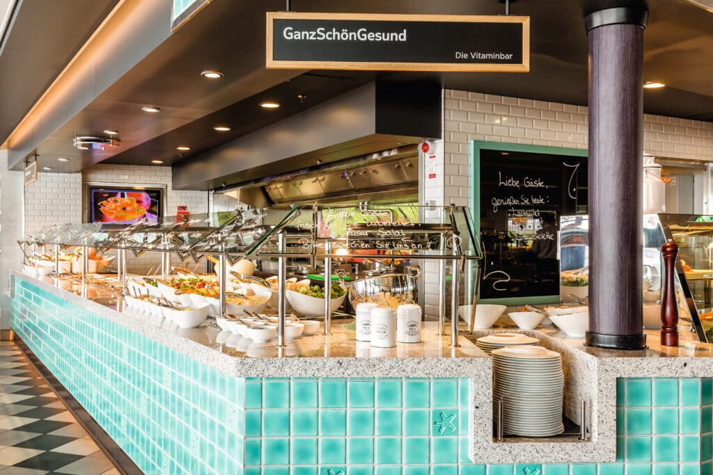 Cruiseschip-Mein Schiff 6-TUI Cruises-Buffet Restaurant