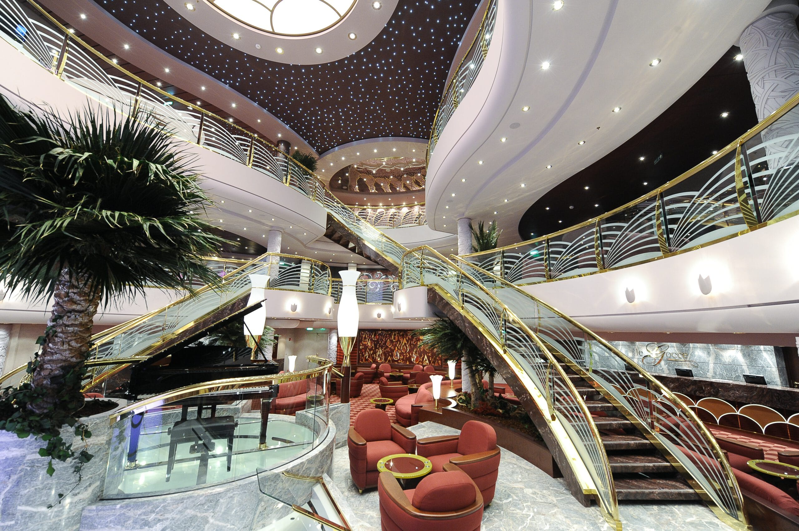 Cruiseschip-MSC Magnifica-MSC Cruises-Atrium