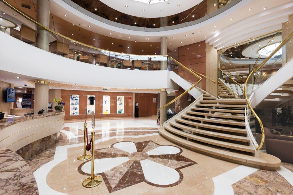 Cruiseschip-MSC Lirica-MSC Cruises-Receptie