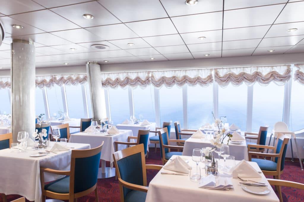 Cruiseschip-MSC Lirica-MSC Cruises-Restaurant