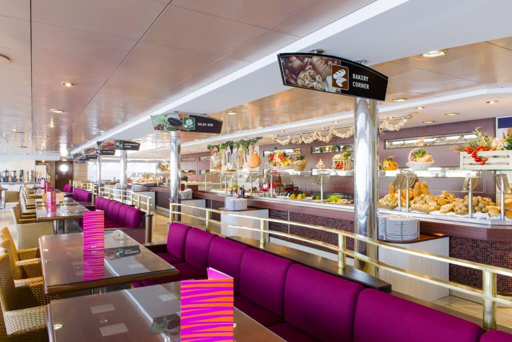 Cruiseschip-MSC Lirica-MSC Cruises-Buffet Restaurant