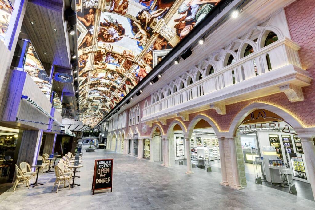 Cruiseschip-MSC Grandiosa-MSC Cruises-Galleria