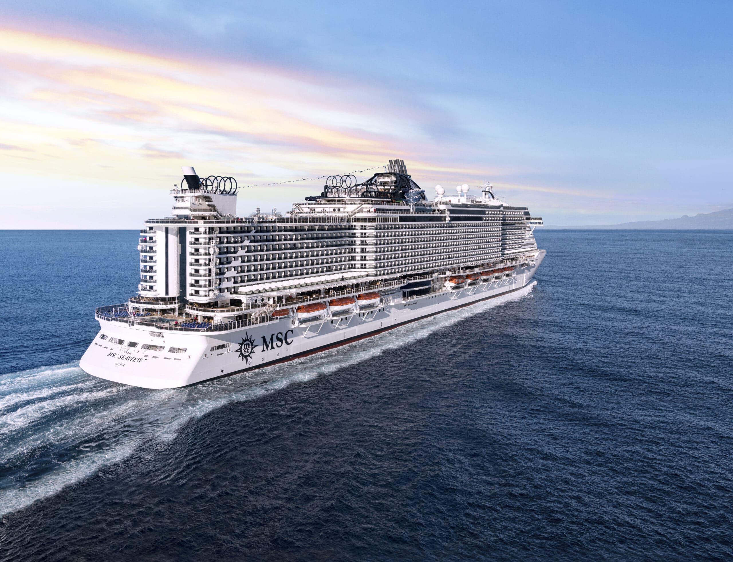 Cruiseschip-MSC Seaview-MSC Cruises-Schip