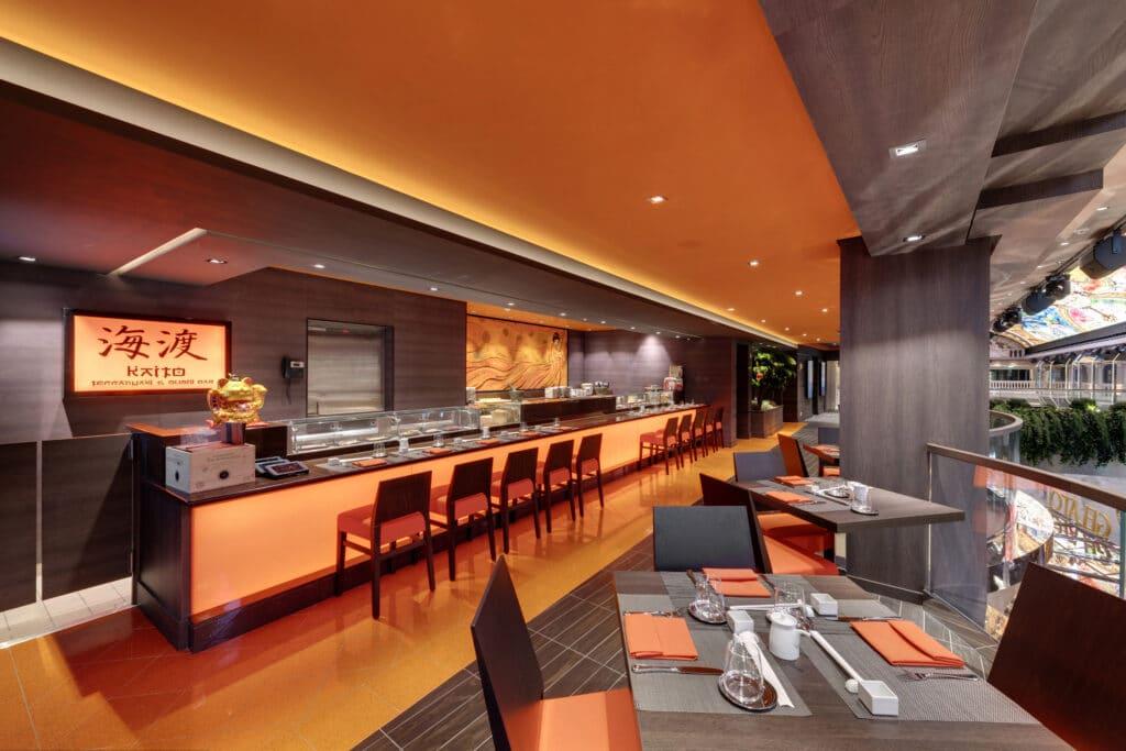 Cruiseschip-MSC Grandiosa-MSC Cruises-Sushi Bar