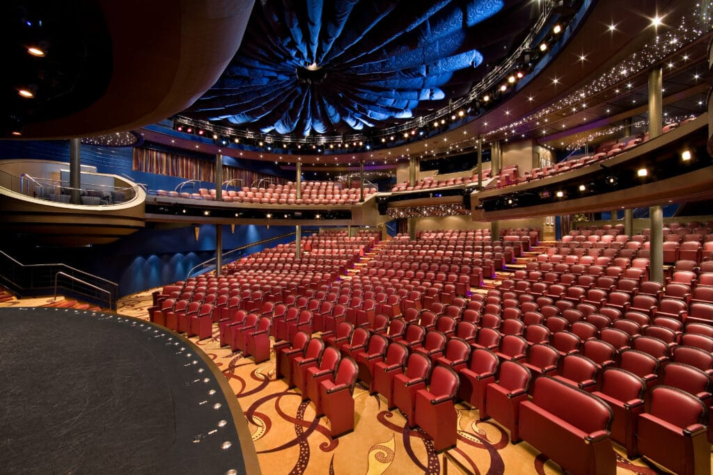 cruiseschip - Holland America Line - Eurodam - theater