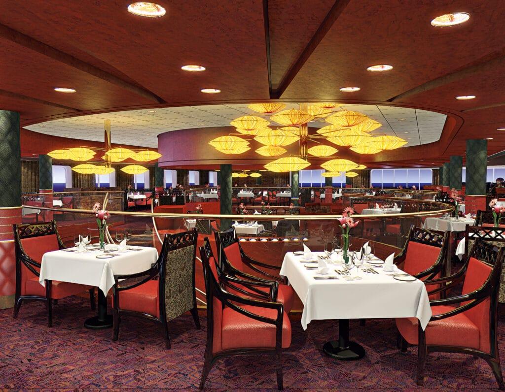 cruiseschip - Holland America Line - Nieuw Amsterdam - Restaurant