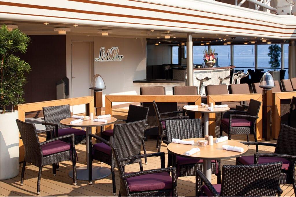 cruiseschip - Holland America Line - Nieuw Amsterdam - Lido Bar