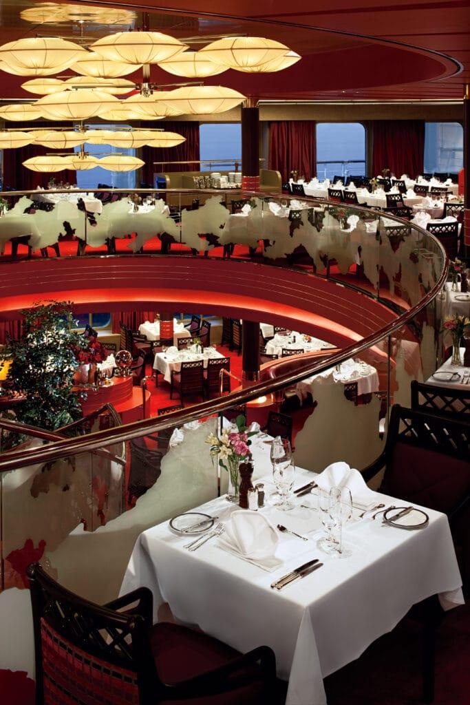 cruiseschip - Holland America Line - Nieuw Amsterdam - Manhanttan Restaurant