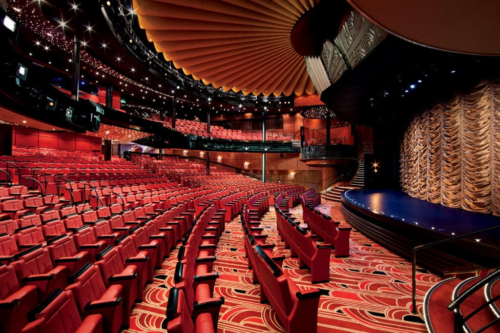 cruiseschip - Holland America Line - Nieuw Amsterdam - Mainstage Theater
