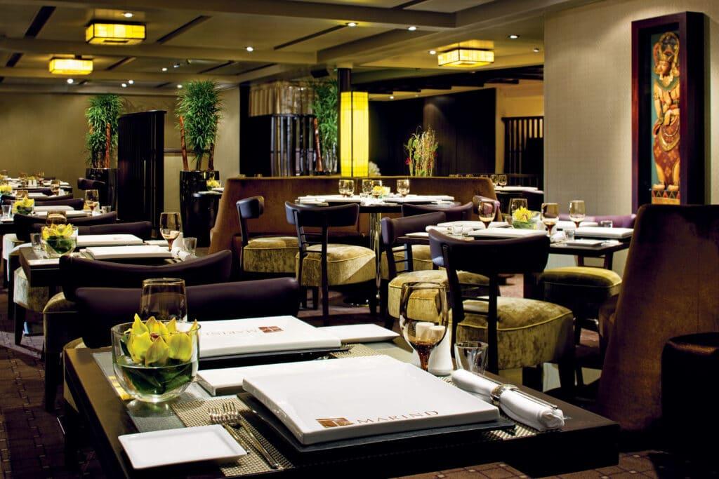 cruiseschip - Holland America Line - Nieuw Amsterdam - Tamarind Restaurant