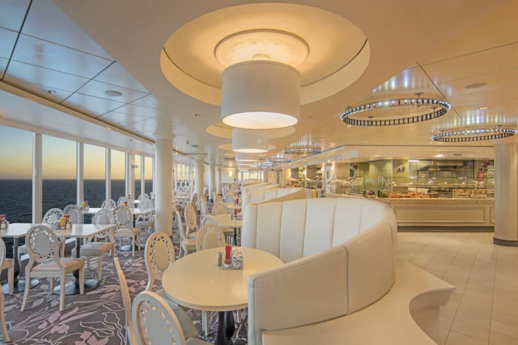 Cruiseschip-Norwegian Epic-Norwegian Cruise Line-Restaurant Garden Cafe