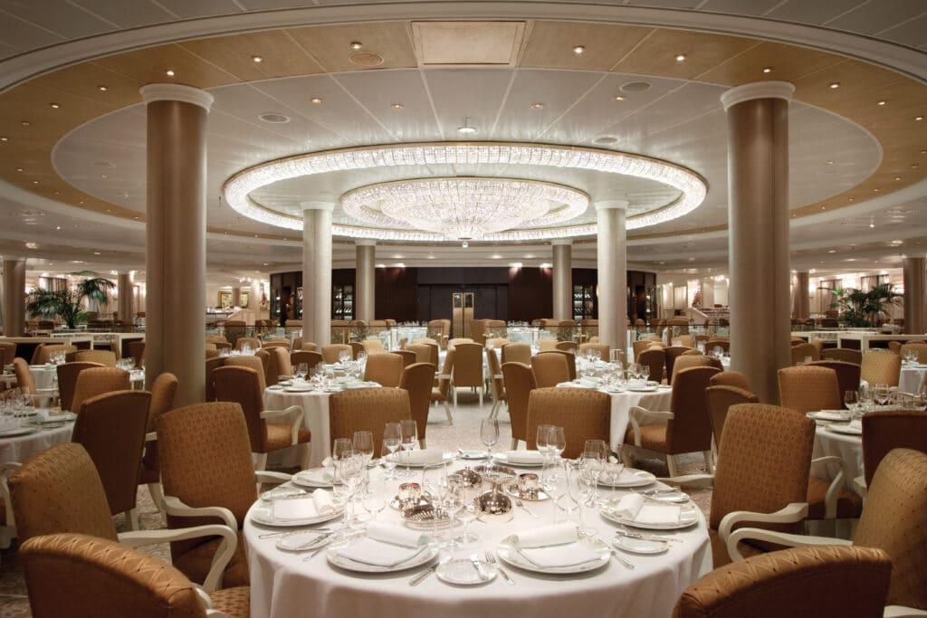 Cruiseschip-Riviera-Oceania Cruises-Restaurant