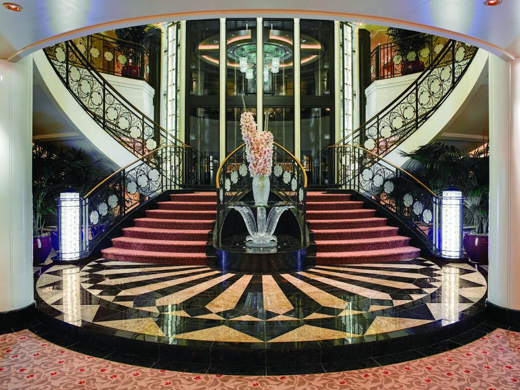 Cruiseschip-Riviera-Oceania Cruises-Grand Staircase