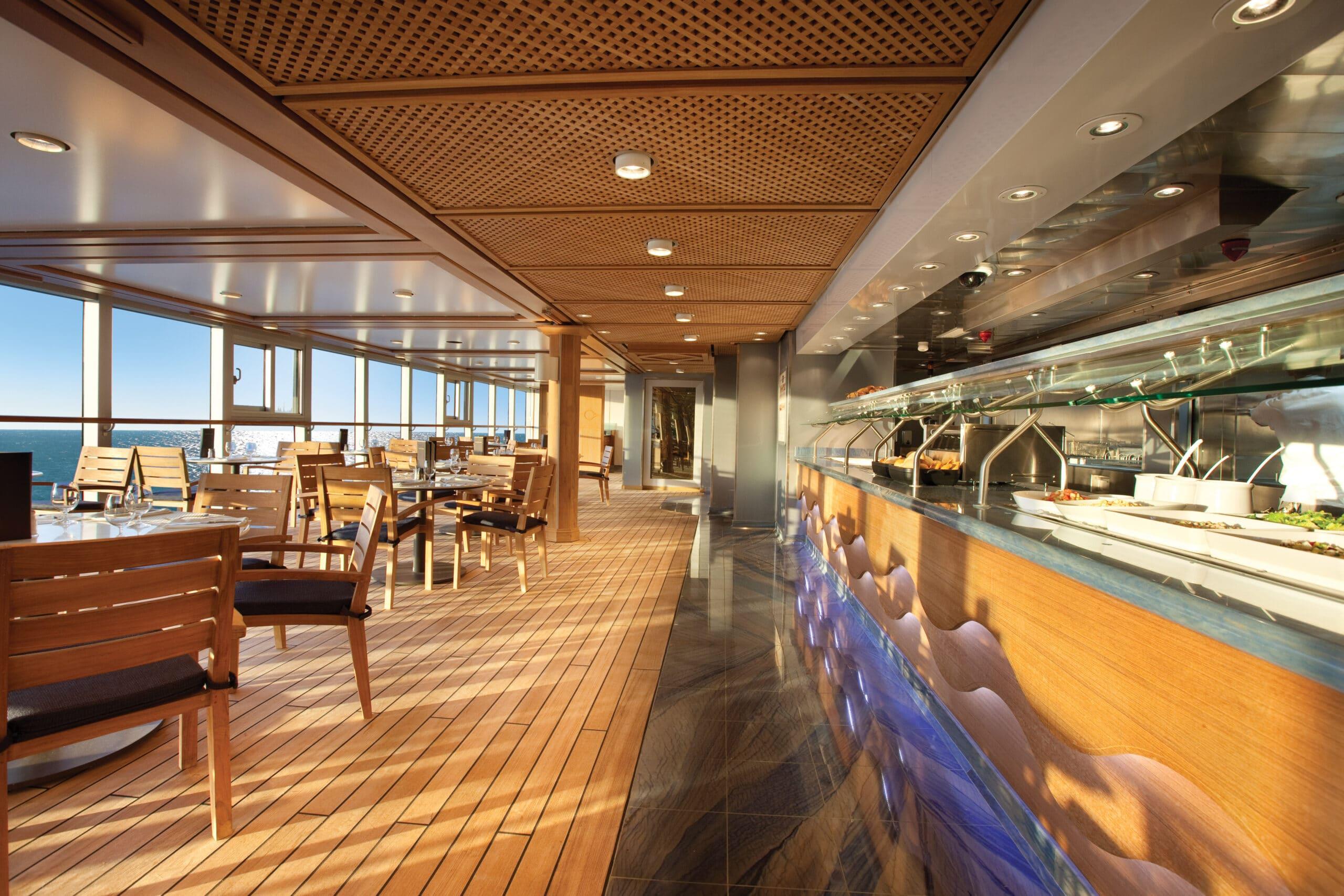 Cruiseschip-Riviera-Oceania Cruises-Restaurant Waves Grill