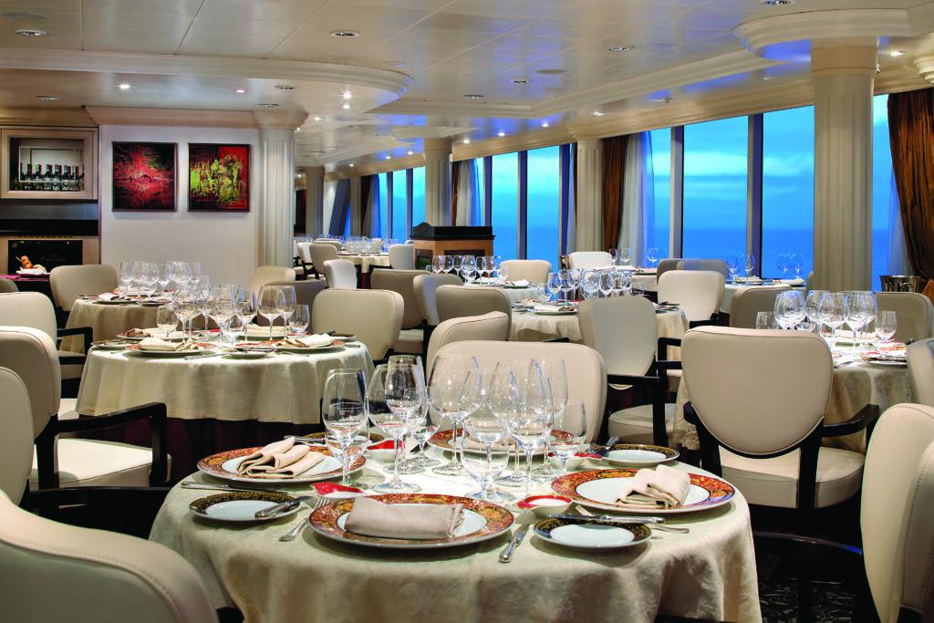 Cruiseschip-Sirena-Oceania Cruises-Restaurant Toscana