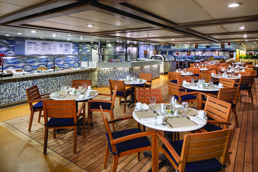Cruiseschip-Regatta-Oceania Cruises-Restaurant Waves Grill