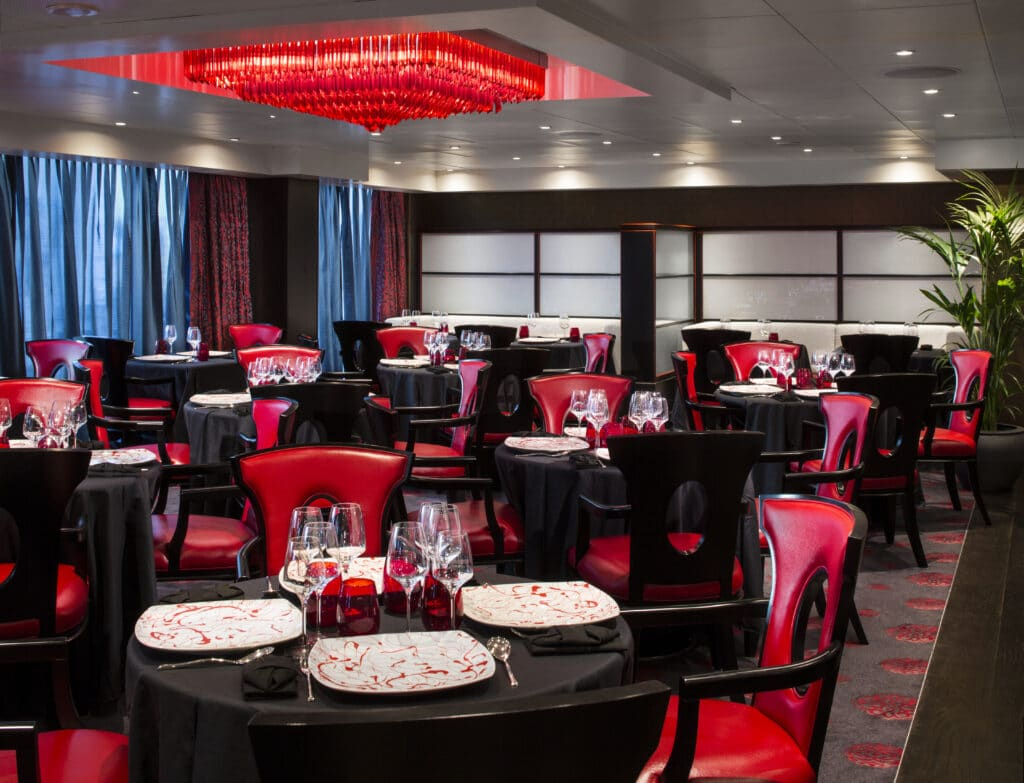 Cruiseschip-Nautica-Oceania Cruises-Restaurant Red Ginger