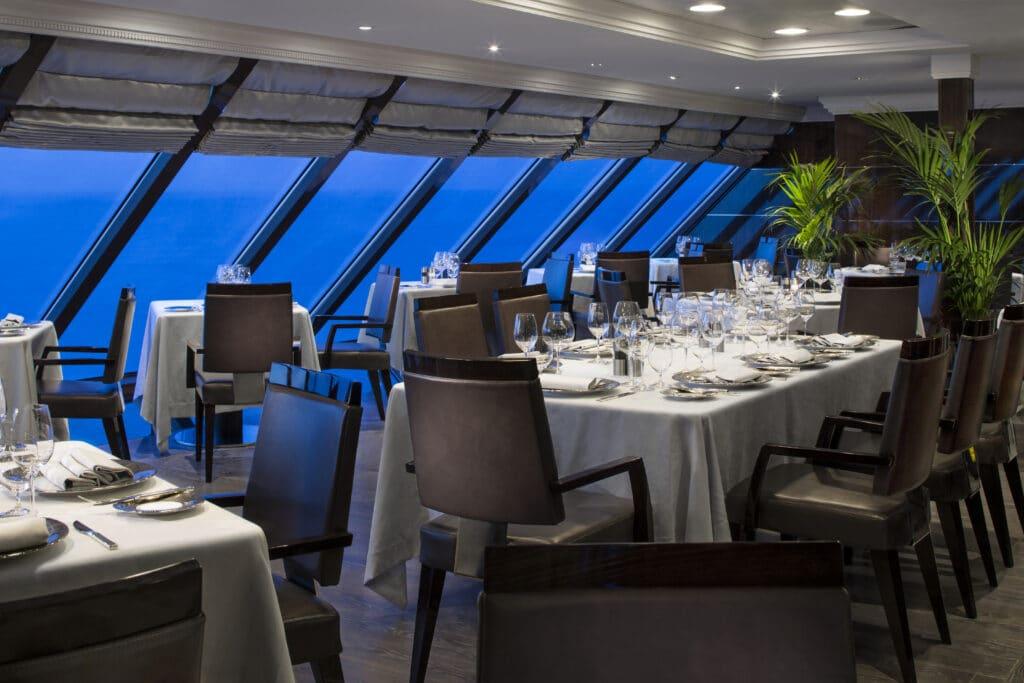 Cruiseschip-Sirena-Oceania Cruises-Restaurant Tuscan Steak