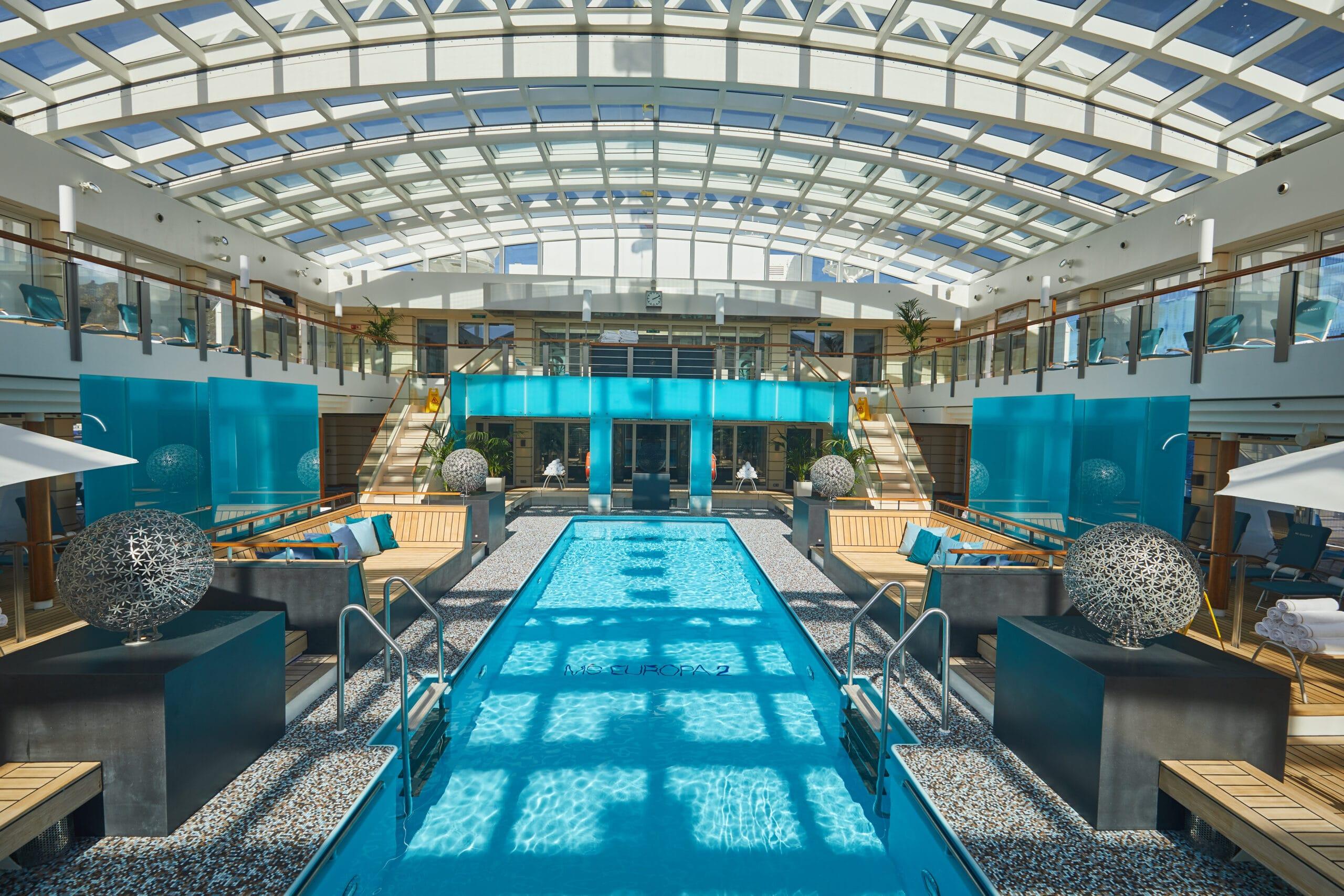 Cruiseschip-MS Europa 2 -Hapag Lloyd Cruises-Pool
