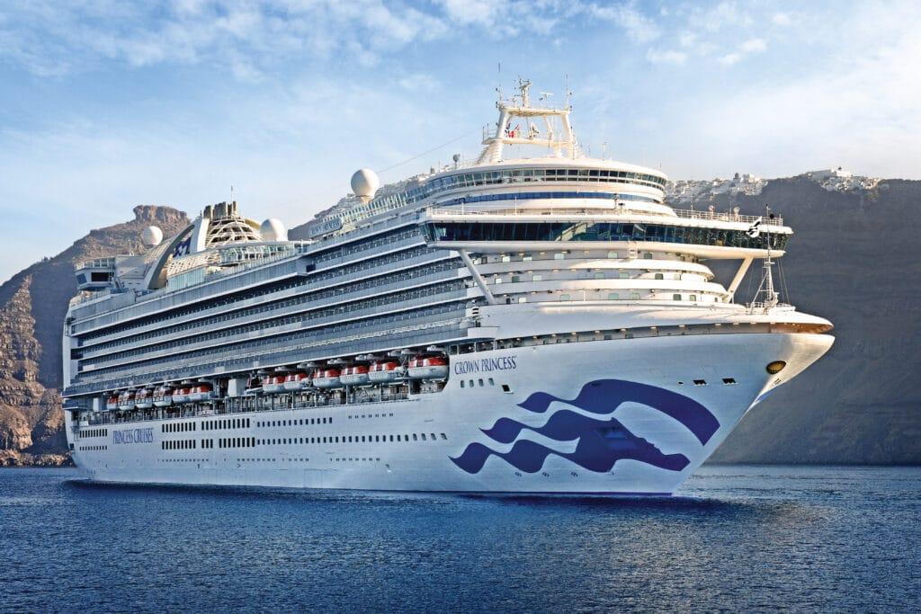 Cruiseschip-Crown Princess-Princess Cruises-Schip