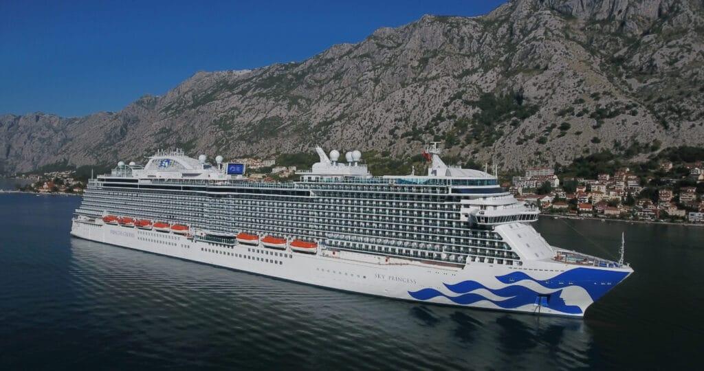 Cruiseschip-Sky Princess-Princess Cruises-Schip