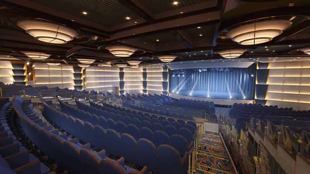Cruiseschip-Sky Princess-Princess Cruises-Theater